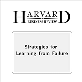 Couverture de Strategies for Learning from Failure (Harvard Business Review)