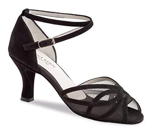 Anna Kern 740-60 Zapatos de Baile para Mujer, Negro, UK 5.5/EU (39 1/3)