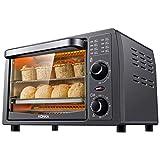 KONKA オーブントースター 温度調整機能付き 1050W グレー メーカー保証1年