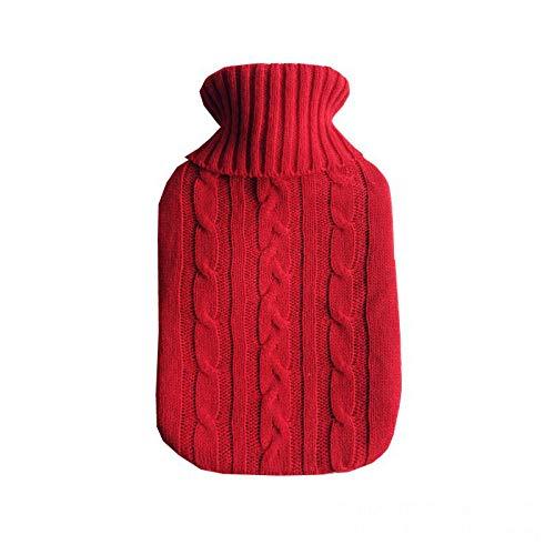 YCCYIA,2.0L Isolator 2L Zachte tas Verwarming Warm Water Fles Alleen Grote Deken Gebreide Herbruikbare Hand Warmer Huishoudelijke Items 2
