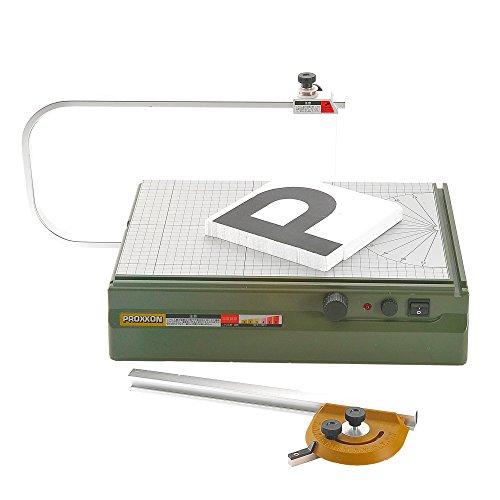 プロクソン(PROXXON)卓上スチロールカッター発砲スチロールの切断に最適直線・角度切で便利【温度調節機能付】No.27180