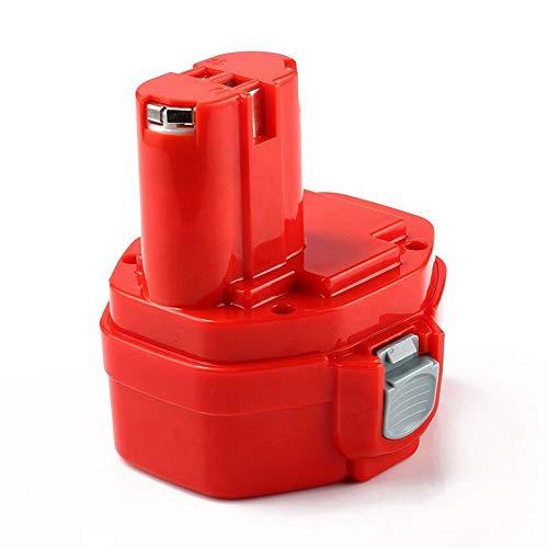 FUNMALL 14.4V 3.0Ah Batería Ni-MH de Alta Capacidad Baterías para Makita PA14 1420 1422 1433 1434 1435 1435F 192699-A 193158-3 192600-1 1051D 4033D 5094D 6280D 8280D JR140D ML140 UB140D