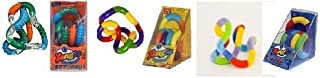 Set of 3 Assorted Tangle Jr. Fidget Toys - Textured, Fuzzy and Original