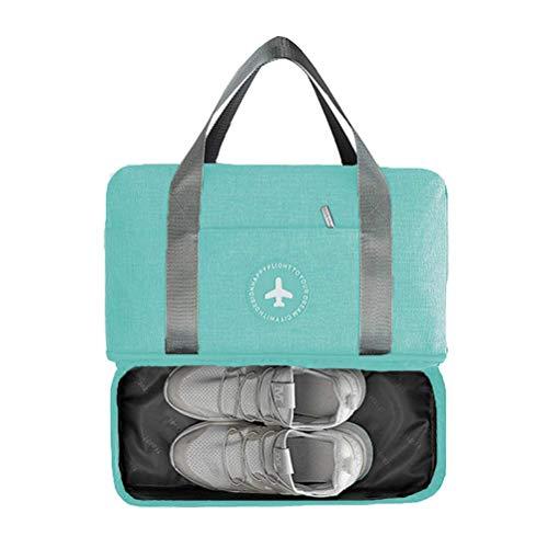 Bolsa de gimnasia impermeable, bolsa de deporte de fitness, bolso de entrenamiento...