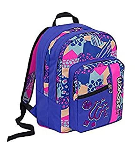 zaino scuola Outsize Swag girl Colore blu rosa