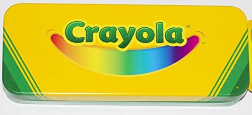Crayola Tin Pencil / Crayon Storage Box, 8' X 3' X 1-1/2'