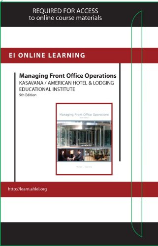 Managing Front Office Operations Online Component (AHLEI) -- Access Card
