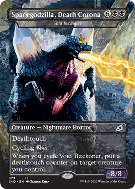 Magic: The Gathering - Spacegodzilla, Death Corona - Void Beckoner - Ikoria: Lair of Behemoths