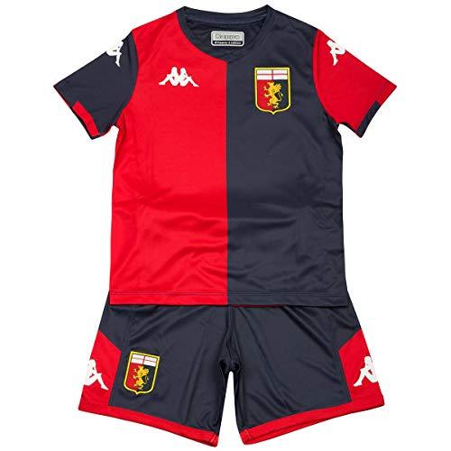 Kappa Completo Bambino Genoa FC 2019/20 Originale 100% Pandev Perin Kouame Criscito (10 Anni)