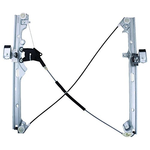 New Window Regulator Front Drivers Side Left Replacement For Select 1999-2007 Chevrolet Silverado & GMC Sierra, 2002-2006 Cadillac Escalade 740-644 11R13 19120846