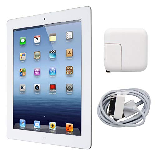 Apple iPad 2 MC980LL/A 9.7-Inch 32GB (White) 1395 - (Renewed)
