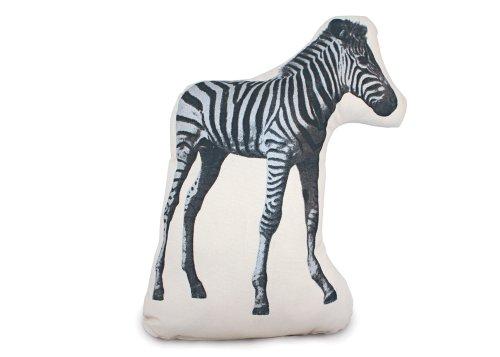 Kissen Fauna Pico Zebra black