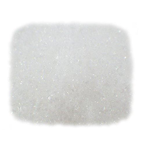 Sepkina feiner Kunstschnee Eiskristalle Dekoschnee Puderschnee Schnee Weihnachtsdeko Großer 4L Beutel 1QM