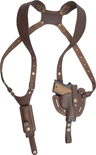 XCH Shoulder Holster, Compatible with Sig Sauer P938 / P238, M&P Compact, M&P Shield, Springfield 911, Glock Slimline Series: -36, -43, -42, Colt Defender