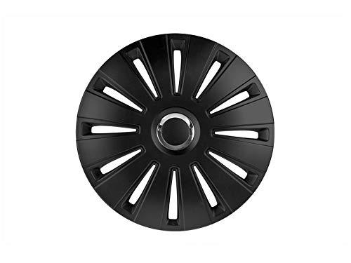 Radkappen Satz 15 Zoll Daytona Pro Black schwarz |Petex (1350-3520)