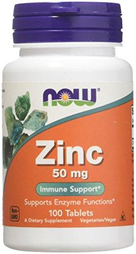 NOW Foods Zinc Gluconate 50mg Now Foods 100 Tabs