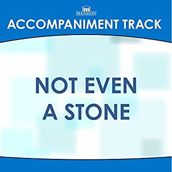Not Even a Stone
