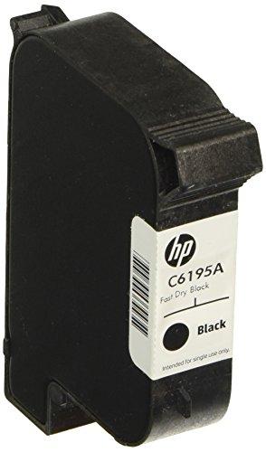 Hewlett Packard Tintenpatrone C6195A fast dry, 40 ml, schwarz