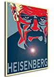 Instabuy Poster Propaganda Breaking Bad Heisenberg A3 42x30