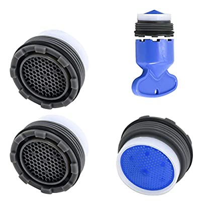 1.5GPM Faucet Replacement Part Insert Filter, Restrictor Aerator, 18.5mm/0.72Inch, 4 Pack
