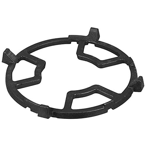 SOLUSTRE Wok Ondersteuning Ring Gasbrander Rack Non Slip Gietijzeren Kachel Trivet Ronde Pot Stand Houder Voor Gas Kookplaat Fornuis Bereik Onderdelen Black