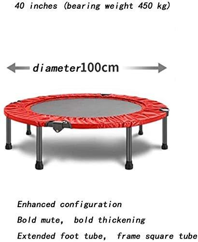 Schommel 40 Inch Mini Trampoline Rood Zwart Indoor Trampolines (Color : B2)