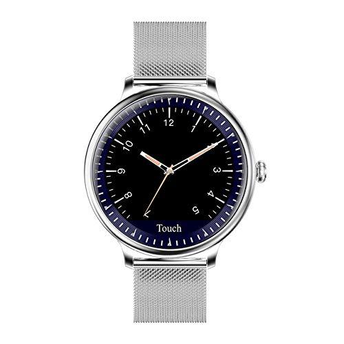 BfL NY12 Mode Smart Watch Damen Herzfrequenz Monitor Blutdruck Kalorienuhr Multi Sports Smartwatch Für Android Ios,C