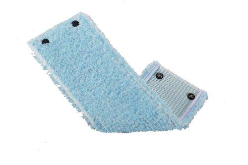 Leifheit Wischbezug Clean Twist super soft 2er Set für Bodenwischer Twist, Wischbezug mit spezieller Faserkombination, Wischer mit schonender Schlingenform