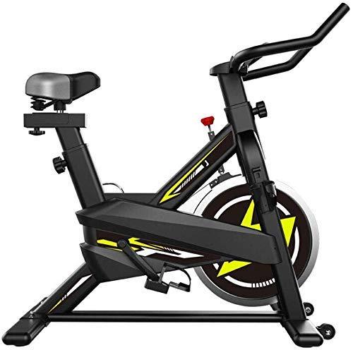 Zhihao Stationäre Bike - Folding Indoor Heimtrainer mit Arm-Widerstand-Bänder und Herz-Monitor - Perfect Home Trainingsmaschine for Cardio