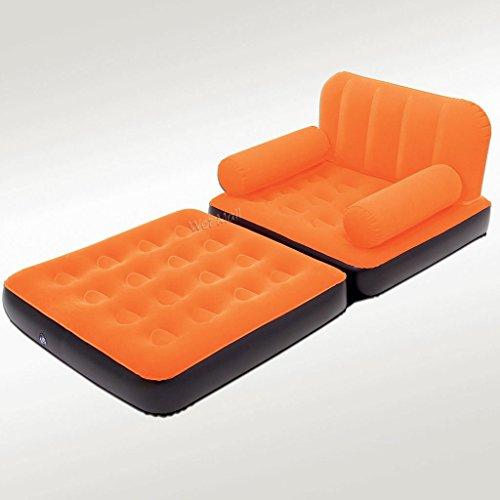 Multi-Max-Divano gonfiabile Air, colore: arancione