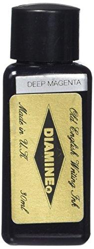 Diamine 30 ml Bottle Fountain Pen Ink, Deep Magenta