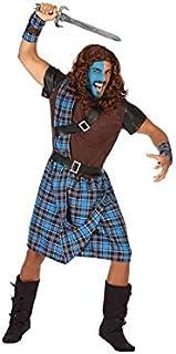 Atosa-53925 Disfraz Escoces, Color Azul, M-L (53925