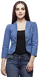 FUNDAY FASHION Women's Denim Shrug