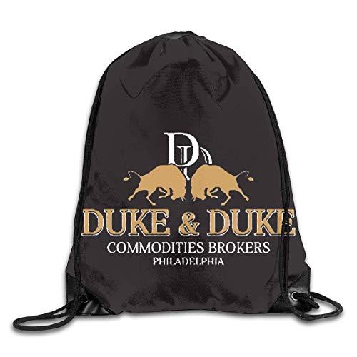 YingaiOK Drawstring Shoulder Bag Trading Places Duke and Duke Bundle Pocket Outdoor Knapsack Sport Gym Backpack