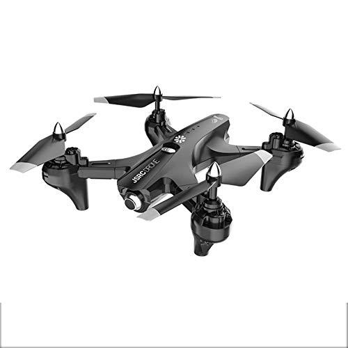 Drone adulto, con 4K UHD WIFI Cámara Anti-Shake, Control de voz Altura Mantenga, Sígueme y Función de devolución automática, adecuada for principiantes negros 4k jianyou ( Color : Black 1080P )