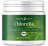 effective nature - Chlorella Algen Pulver - Bio-Qualität - Hoher Eisen-Gehalt - 250g