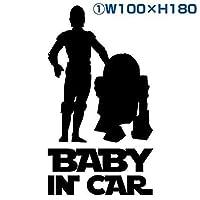 カッティングステッカースターウォーズ風star warsキッズチャイルドベビーインカー kids incar baby incarchild incarセーフティドライブ