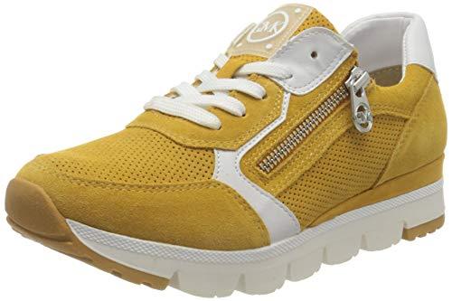 MARCO TOZZI by Guido Maria Kretschmer 2-2-83703-26 Veloursleder Sneaker, Zapatillas Mujer, Saffron Comb, 37 EU