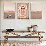 Refosian Landschaft Wandkunst Wüste Reisedruck Marrakesch