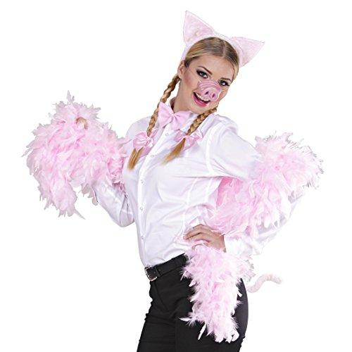 Cerdo Disfraz Juego cerdo Disfraz 4piezas Cerdos Orejas Nariz cola mosca cerdo Disfraz Granja Piglet Animales Disfraz cerdito Carnaval Disfraz Disfraces Animales