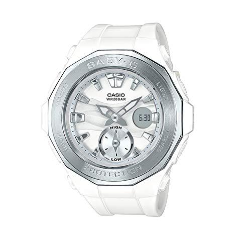 Casio G-Shock BGA-220-7A Wht/Silver Silver Bezel - White Silver/One Size
