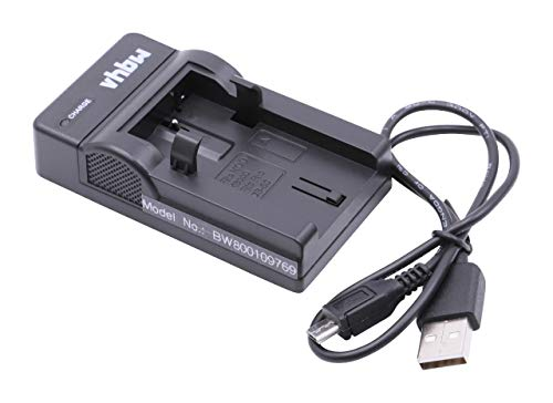 vhbw USB Akkuladegerät kompatibel mit Ricoh DB-50 Digitalkamera, Camcorder, Action Cam-Akku - Ladeschale