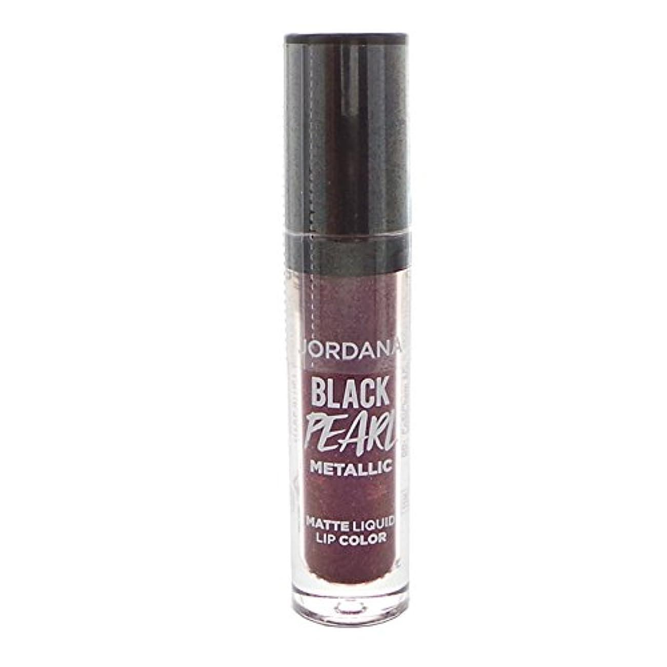 アーティストハンサム検索エンジンマーケティング(6 Pack) JORDANA Black Limited Edition Pearl Metallic Matte Liquid Lip Color - Hocus Pocus Plum (並行輸入品)