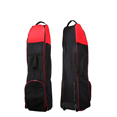 New FeliciaJuan Golf Club Travel Bag Case Waterproof Golf Aviation Bag with Pulley Sports Outdoor Go...