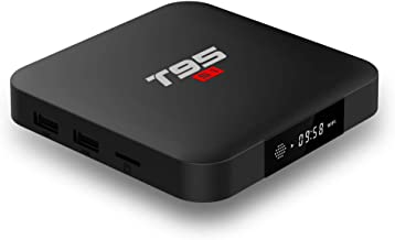 ESHOWEE T9 Android 7.1 TV Box Amlogic S905W Quad-core 64 Bit DDR3 1GB 8GB 4K UHD WiFi & LAN VP9 DLNA