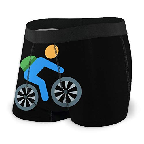 Canada Juoky Cycling Mountain Bike Mens Underwear Breathable Boxer Brief Soft Comfortable Briefs Black