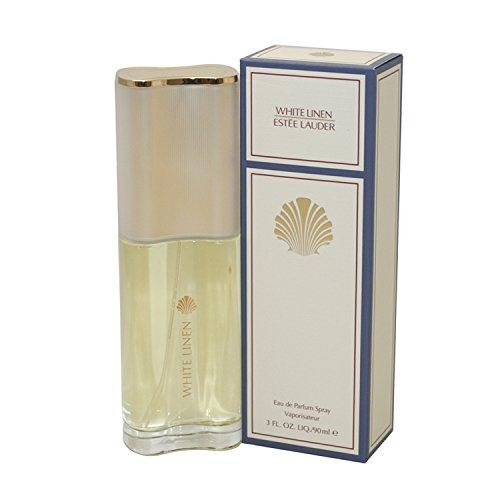 WHITE LINEN Perfume. EAU DE PARFUM SPRAY 3.0 oz / 90 ml By Estee Lauder - Womens (Estee Lauder Raspberry Perfume)
