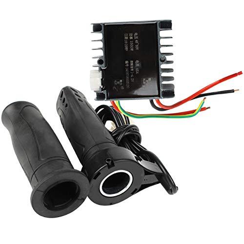 Demeras Juego de Controlador de Velocidad del Motor Cepillado 48-60V 1500W Motor...