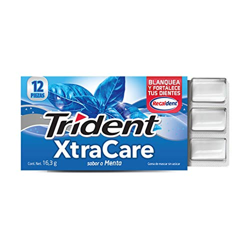 Trident, Xtra Care 12'S Menta, 195.8 Gramos