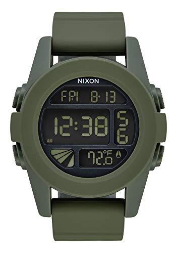 Nixon Reloj Analógico para Unisex Adultos de Digital con Correa en PU A197-1085-00